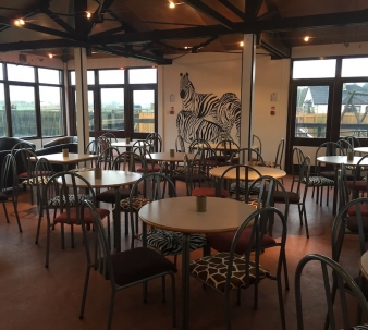 Africafe is now open at Fife Zoo