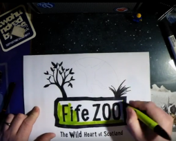 The Fife Zoo Logo – Time Lapse